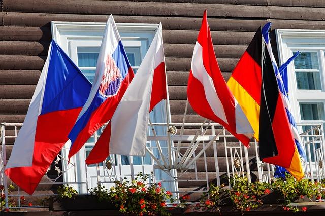 různé vlajky