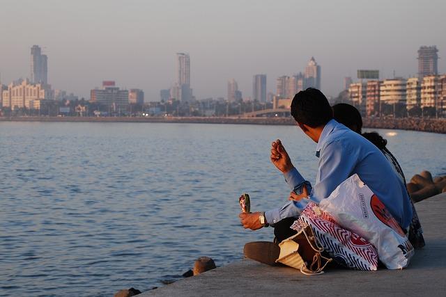 lidé v Mumbai