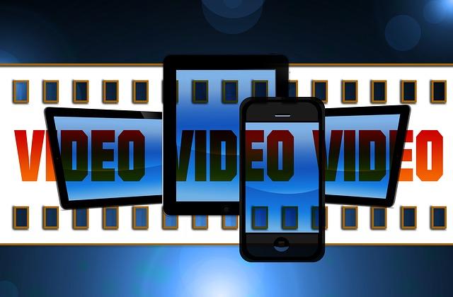 video na médiích