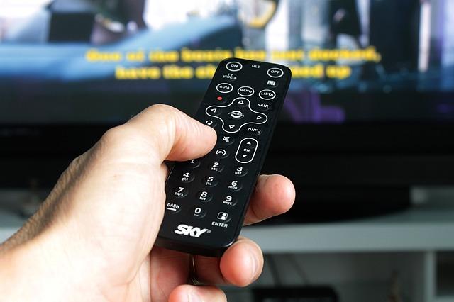 ovladač televize
