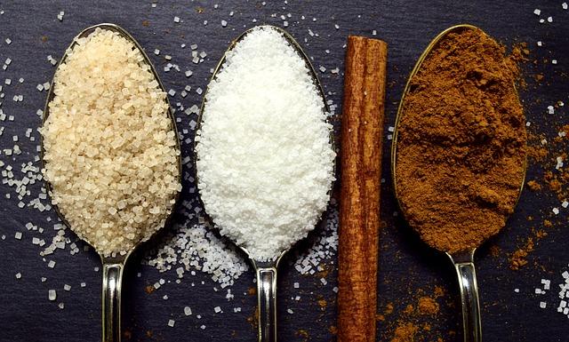 různé cukry